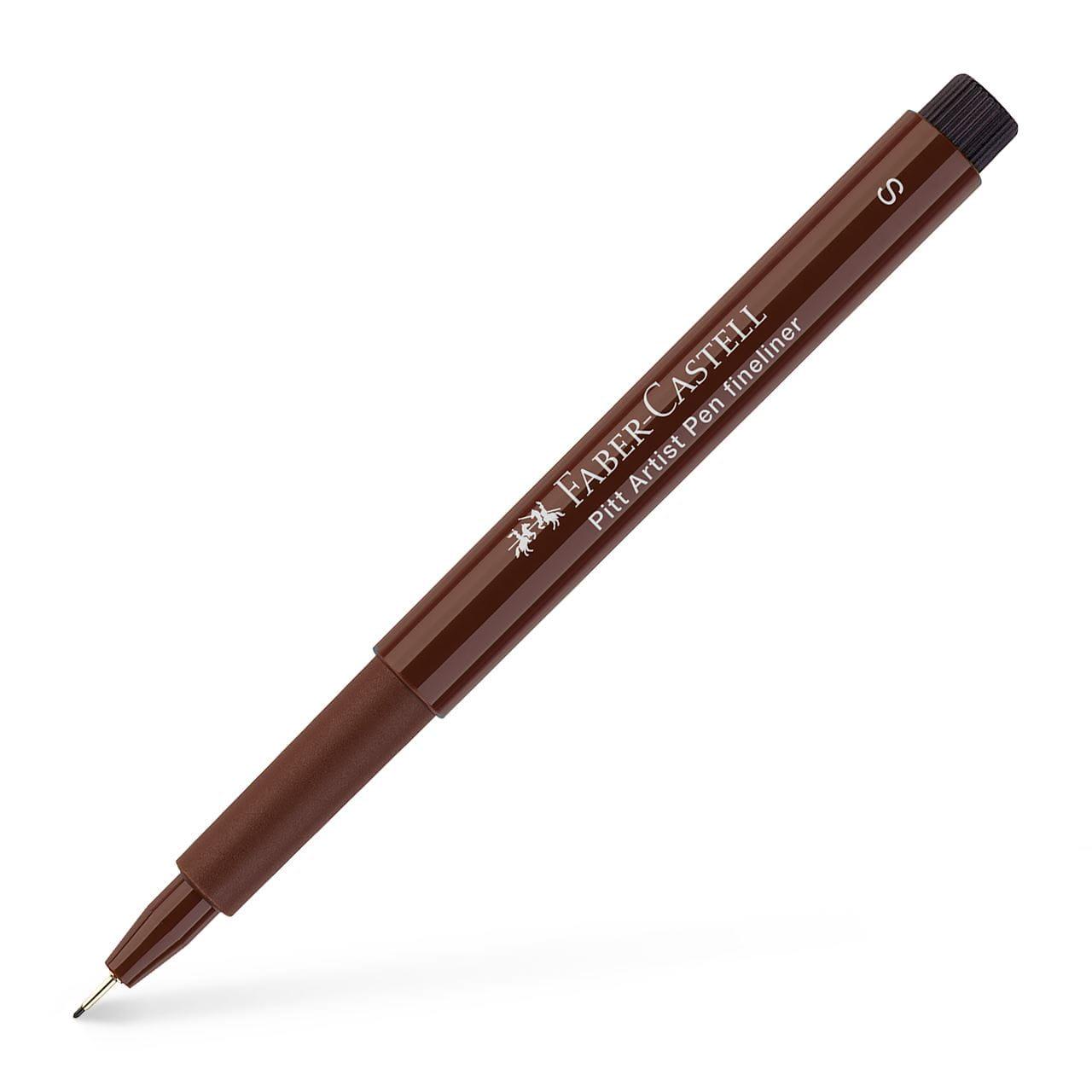 inchiostro seppia confezione da 6 Penna da disegno Uni Pin Fineliner punta a pennello