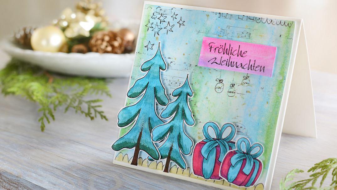 Tutorial Biglietti Di Natale.Tutorial Speciali Per Natale
