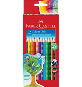Faber-Castell - Matite Colorate Colour Grip Astuccio cartone 12