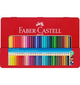 Faber-Castell - Matite Colorate Colour Grip Astuccio metallo 36