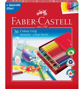 Faber-Castell - Matite Colorate Grip 2001 Studio Box 36