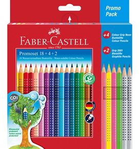 Faber-Castell - Promotion set Colour Grip 18+4+2