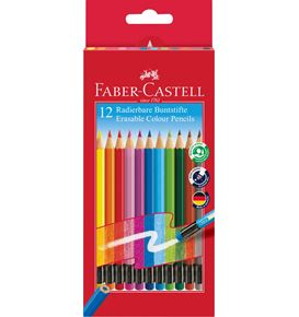 Faber-Castell - Matite Colorate Cancellabili Astuccio cartone 12