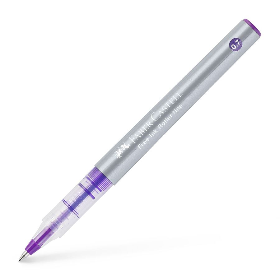 Faber-Castell - Free Ink rollerball, 0.7 mm, viola