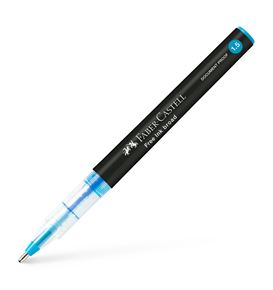 Faber-Castell - Free Ink rollerball, 1.5 mm, azzurro