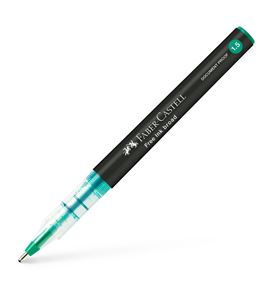 Faber-Castell - Free Ink rollerball, 1.5 mm, verde