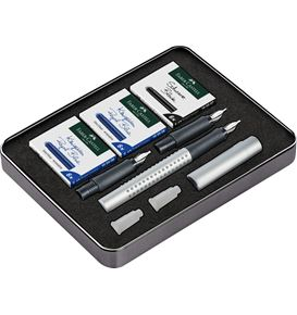 Faber-Castell - Set Grip 2011 calligraphy Silver (1.1/ 1.4/ 1.8 mm)