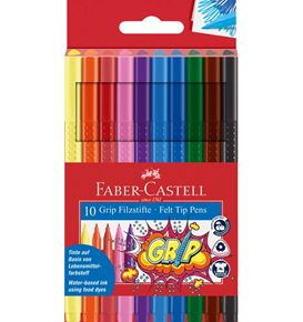 Faber-Castell - Grip Colour Marker Bustina 10