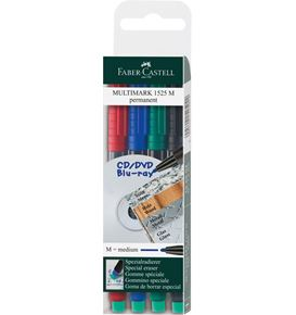 Faber-Castell - Marker Multimark permanente media Bustina 4