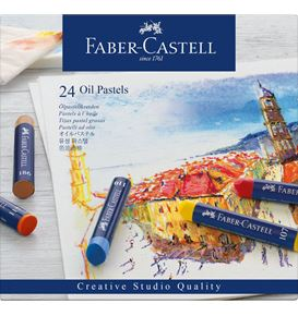 Faber-Castell - Oil Pastels Astuccio 24