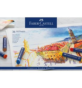 Faber-Castell - Oil Pastels Astuccio 36