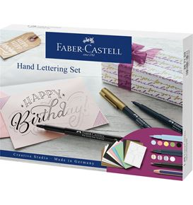 Faber-Castell - Set creativo Hand Lettering, 12 pezzi