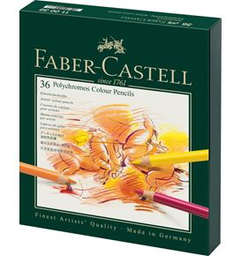 Faber-Castell - Matite Colorate Polychromos Studio Box 36