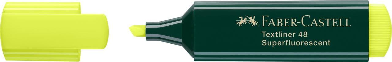 Faber-Castell Evidenziatore A Secco Textliner Jumbo Grip Neon Giallo